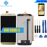 2pcs For UMI Super LCD Display And Touch Screen Tools Digitizer Assembly Replacement 1920X1080P 5 5inch