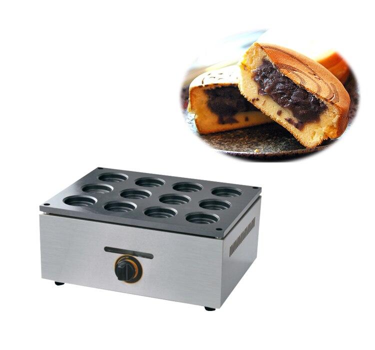 Livraison gratuite type de Gaz 16 trou Couche gâteau machine de haricots rouges gâteau maker