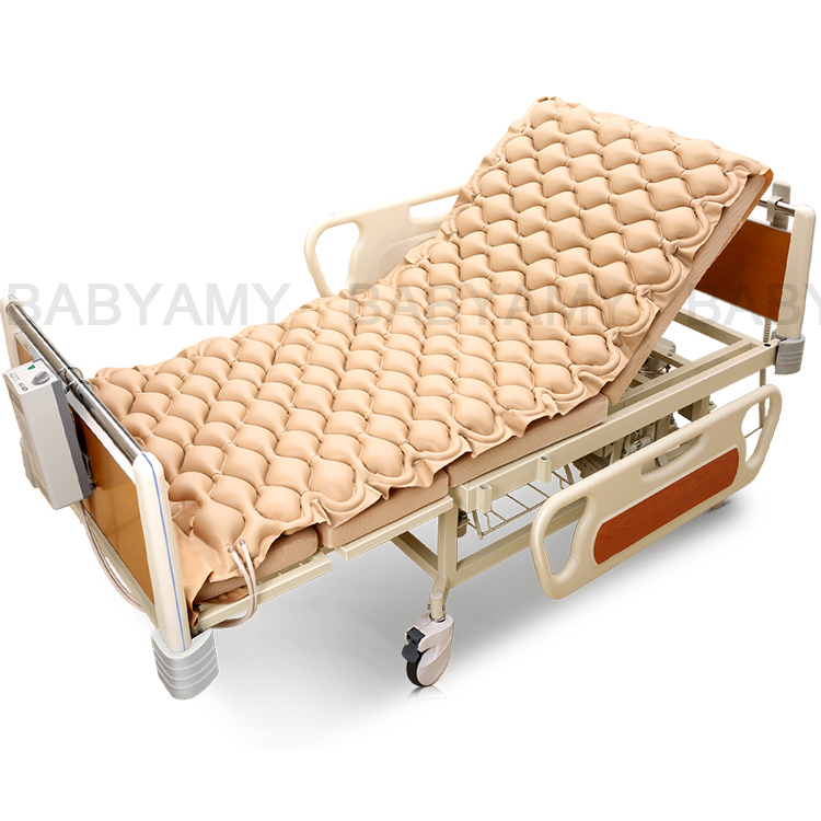 Alternating Pressure Mattress Quiet Inflatable Bed Air Topper for Pressure Ulcer and Pressure Sore Treatment with