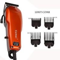 High Power Mens Powerful Electric Hair Clipper Professional Hair Trimmer Hair Barber Cutting Machine For Adult