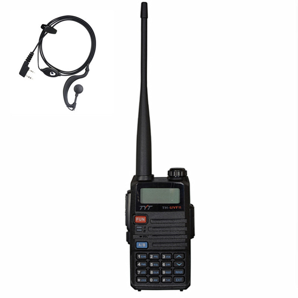 TYT TH-UVF11 two-way radio dual band Walkie Talkie display standby PTT scrambler DTMF COMP TOT