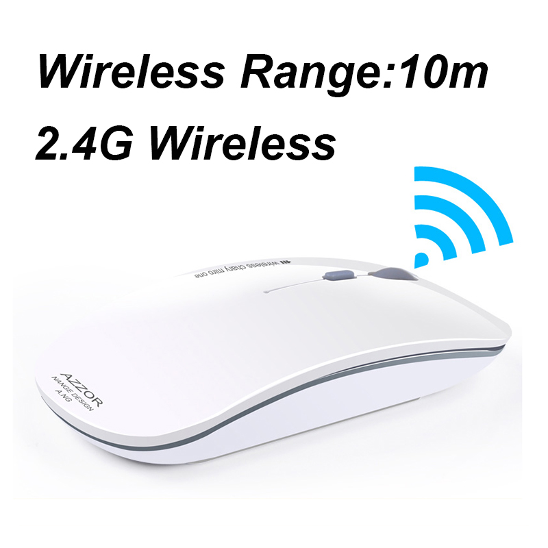 2.4GHz Super Slim Wireless Mouse 2