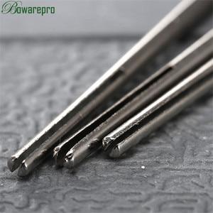Image 4 - 10Pcs Shank Lungo Abrasivo Carta Vetrata Punto di Divisione Dritto Mandrini F/Dremel Rotary Adapter Strumento di 2.35 millimetri