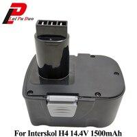 14.4V 1500mAh Ni CD DA 13 / 14.4E Power Tool Replacement Battery Cordless Drill for Interskol 14.4v H14