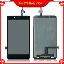 For ZTE Blade V220 LCD Display Touch Screen Original Screen Digitizer Assembly Free Tools For ZTE Blade V220 Mobile Accessories