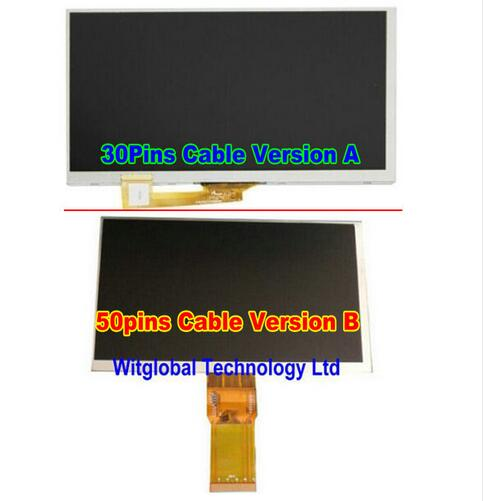 New LCD Display Matrix For 7 TEXET X-pad HIT 7 3G TM-7866 Tablet 30pins LCD Screen Replacement Panel Parts Free Shipping