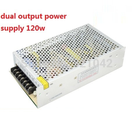 Dual output switching power supply smps 12V 5A 24V 2.5A 120w ac dc converter good quality D-120C industrial grade dual power 12v 12v power supply d 60c dc dual output power supply 12v 2 5a 12v 2 5a 100 240v