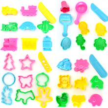 36pcs BOHS Play Dough Playdough Tools Polymer Clay Plasticine Mold Set Kit