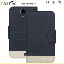 Original! Doopro P4 Case 5 Colors High Quality Flip Ultra-thin Luxury Leather Protective For