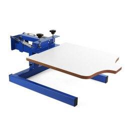 1 color 1 station/single color screen printing machine/silk screen printer