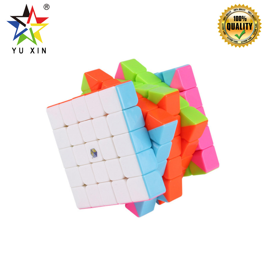 2019 YUXIN Magic Cube Professional 5x5x5 Competition Puzzle Speed Cube Twist Fidget Toys For Children Gift NeoCubes Magico Cubo