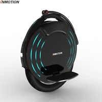 INMOTION V10/V10F auto équilibrage roue Scooter électrique monocycle 2000W intégré poignée Hoverboard avec lampes décoratives