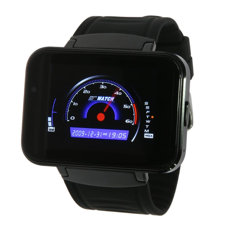 1.2G Dual Core MTK6572A Smart Watch 2.2inch LCD 1.3MP Camera Smart Watch with WiFi/ GPS Bluetooth Smartwatch for Android smart baby watch q60s детские часы с gps голубые
