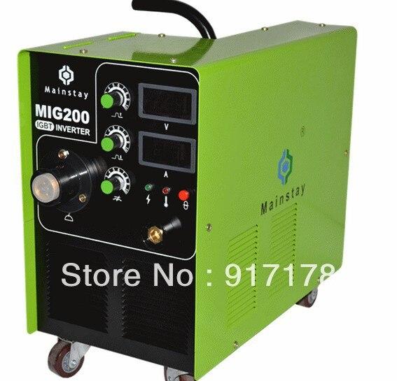 MIG 200 welder mig inverter welding machine