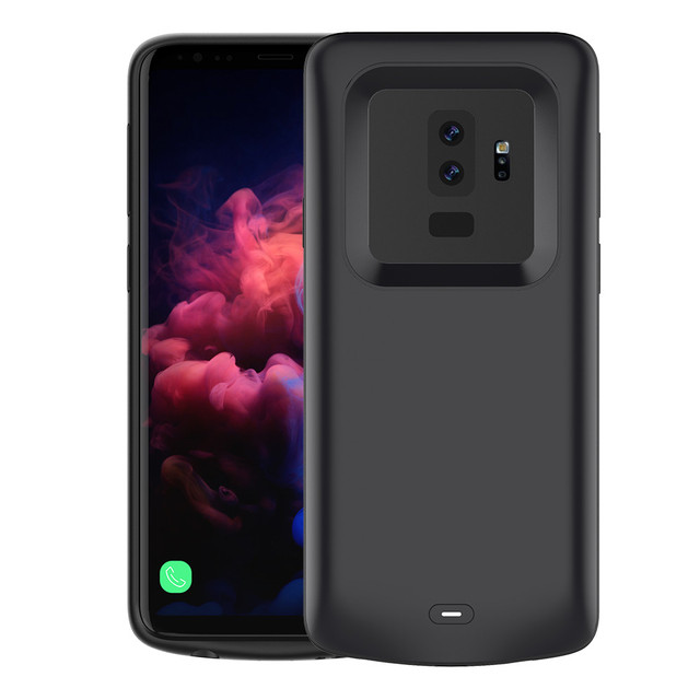 low priced ea728 3aa08 US $13.62 27% OFF|4700 5200mAh Extended Battery Case Phone Charging Cover  for Samsung Galaxy S9 S9 Plus Rechargeable Battery External Protective-in  ...
