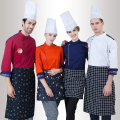 2016 New Arrivals Cook Clothing Cake Baking Master Chef Jacket Men and Women Whites Chefs Apparel Orange Hotel Chef Uniform