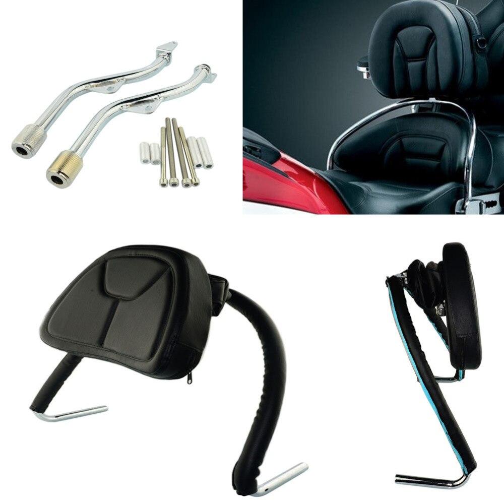 Honda GL 1200 Goldwing GL1200 - Add On DRIVER'S BACKREST w ...   Goldwing Leather Seats