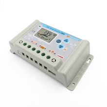 10A 20A 30A 12V 24V wincong SL03 10A SL03 20A SL03 30A solar Charge Controllers LCD Li Li ion lithium LiFePO4 batteries