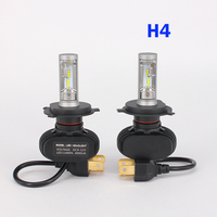 2 PCS Car Headlight Bulbs 50W 8000LM CREE LED Chips CSP Spotlight Automobile Work Head Lamp