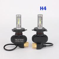 2 PCS Car Headlight Bulbs 50W 8000LM CREE LED Chips CSP Spotlight Automobile Work Head Lamp