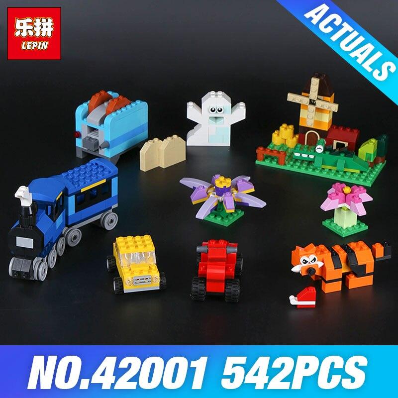 Lepin 42001 484Pcs Genuine Creative Series The Medium Brick Box Builing Blocks Bricks Children Educational Toys Model 10696 степлер мебельный со скобами sparta 42001