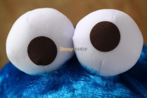 Fancytrader 15\'\' 36cm Copyrighted Plush Stuffed Cookie Monster Shoulder Bag, Free Shipping FT90380 (6)