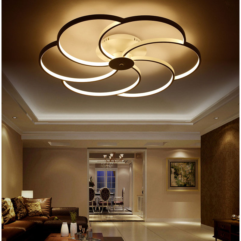 2017 modern Chandelier lighting  For Dinning Room/living room/bedroom  LED chandeliers for Home Decoration 10-20 square meters