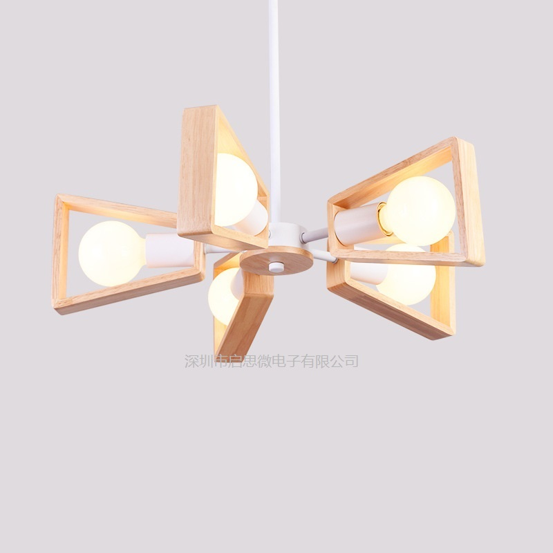 Modern Wood Pendant Lights Lamparas Wood pendant Ceiling Lamp Luminaire Deco Restaurant Lights Cafe Lighting Fixtures 2016 new luminaire lamparas pendant lights modern fashion crystal lamp restaurant brief decorative lighting pendant lamps 8869