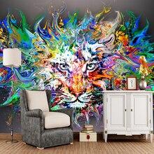 Современные художественные обои, картина маслом для детской комнаты диван гостиная фон обои украшение дома рулон бумаги