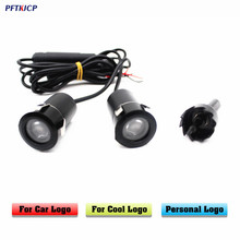 PFTKJCP 2pcs Welcome light For MG ZT-T TF ZR ZT for renault mazda st r for suzuki LED car laser projector  Ghost Shadow Lights