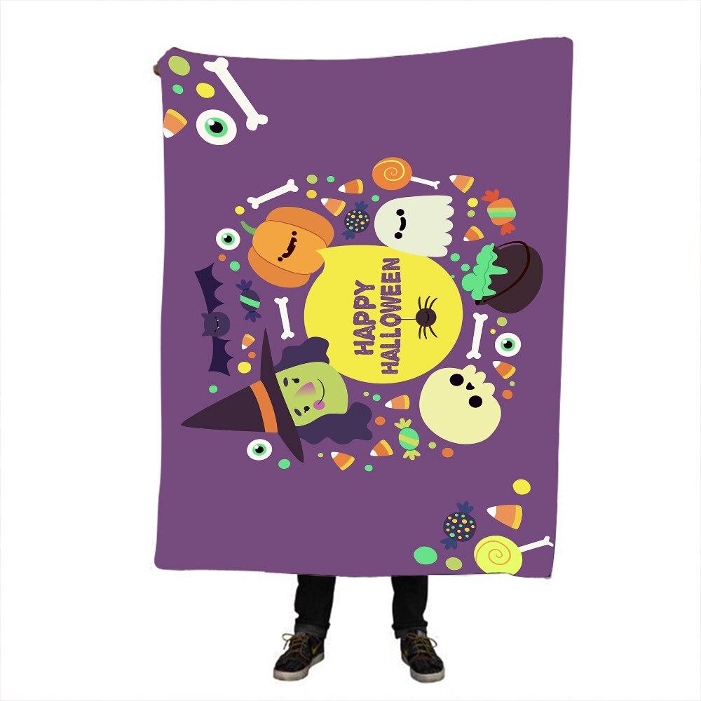 Halloween Dreamcatcher Sherpa Blanket Bedspread Bald Eagle Velvet Plush Beds Blanket Bohemian mantas para cama in Blankets from Home Garden