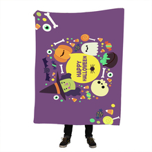 купить Halloween Dreamcatcher Sherpa Blanket Bedspread Bald Eagle Velvet Plush Beds Blanket Bohemian mantas para cama дешево