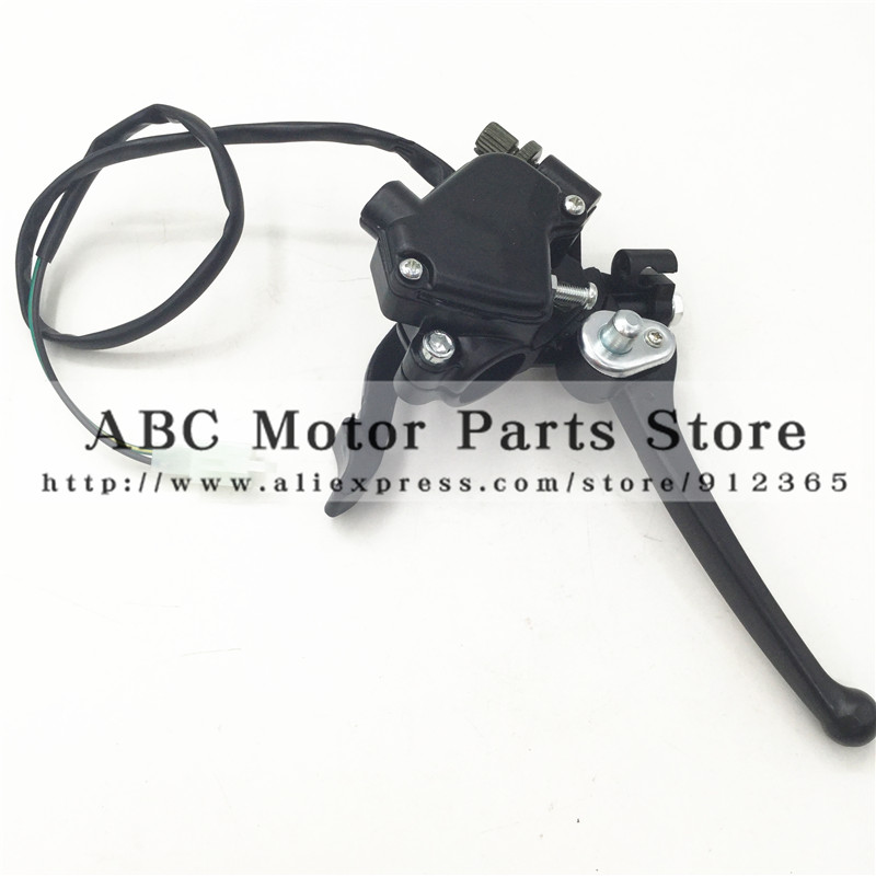 Lovely Atv Aluminum Double Brake Lever With Throttle Thumb Accelerator Back To Search Resultsautomobiles & Motorcycles