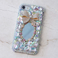 New Women Mirror Rhinestone Diamond Case For Letv LeEco Le 2 X520 X620 Le2 Pro X25