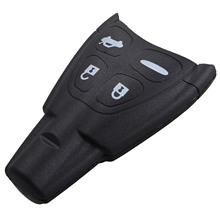 Car Key Shell Replacement For Saab 4 Buttons Keyless Entry Remote Smart Fob Case Cover 9-3 9-5 93 95