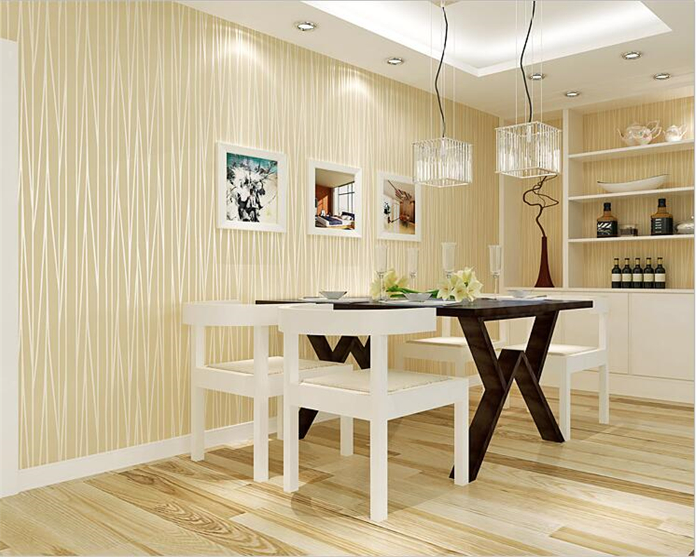 Beibehang 3d non-woven wallpaper plain solid color striped home improvement clothing shop office decoration 3d wallpaper mural beibehang non woven home decoration