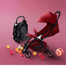 5.7Kg Lightweight Luxury Baby Stroller Foldable Portable Stroller Hot Mom Stroller Baby Trolley Travel Pram 4 Free Gifts high quality baby stroller many colors new born can use stroller ru free on sale leg cover free 7 gifts