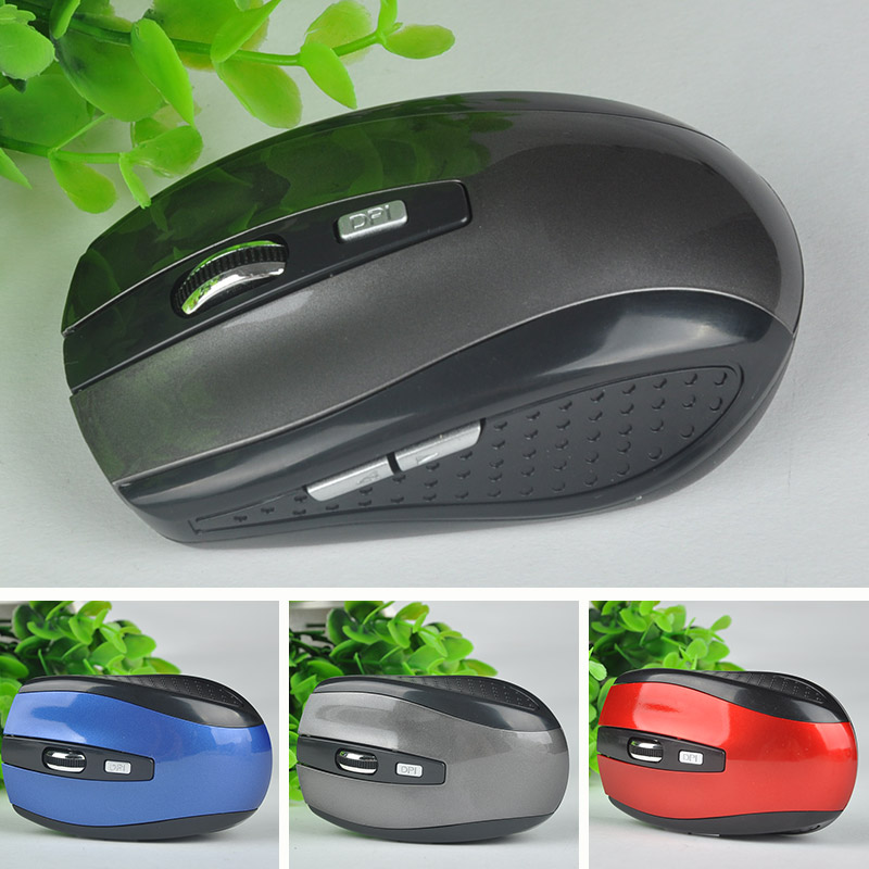 2.4GHz USB Optical Wireless Mouse USB Receiver Mice Cordless Game Computer PC Laptop Desktop 3 Colors New