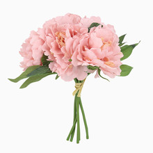 Peony bouquet Tiffany blue artificial flower home decor wedding decoration fake flowers gift for March 8th