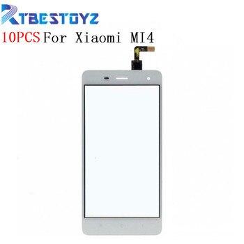RTBESTOYZ For Xiaomi Mi4 Quad Core Mi 4 M4 Black White Touch Screen Panel Sensor Lens Glass Replacement