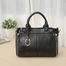 2016 women's genuine leather handbag messenger bag fashion leather bag