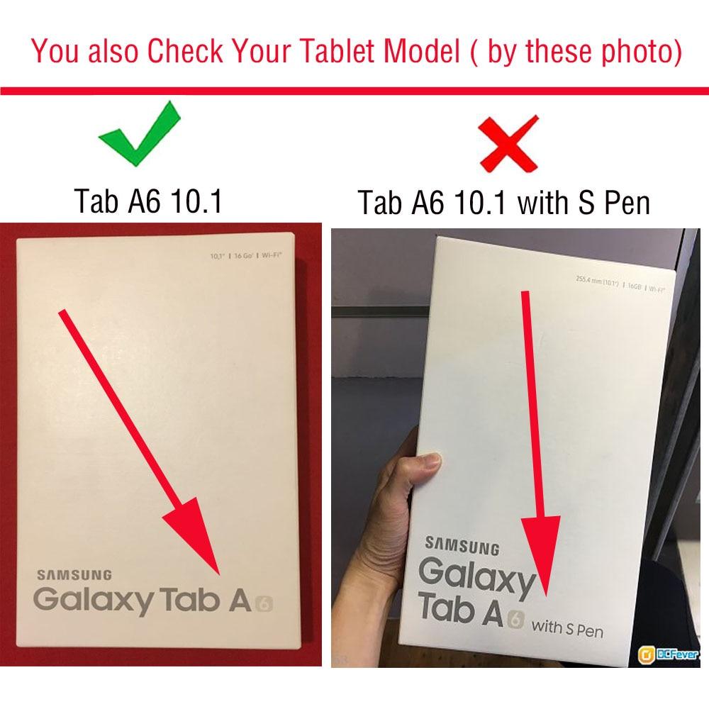 Mitme nurga all olev kaitseümbris Samsung Galaxy Tab A A6 T580 T585 - Tahvelarvutite tarvikud - Foto 2