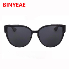 Women Cat Eye Sunglasses Fashion luxury Brand Designer lady female mirror Points Sun Glasses for women lunettes femme quay style