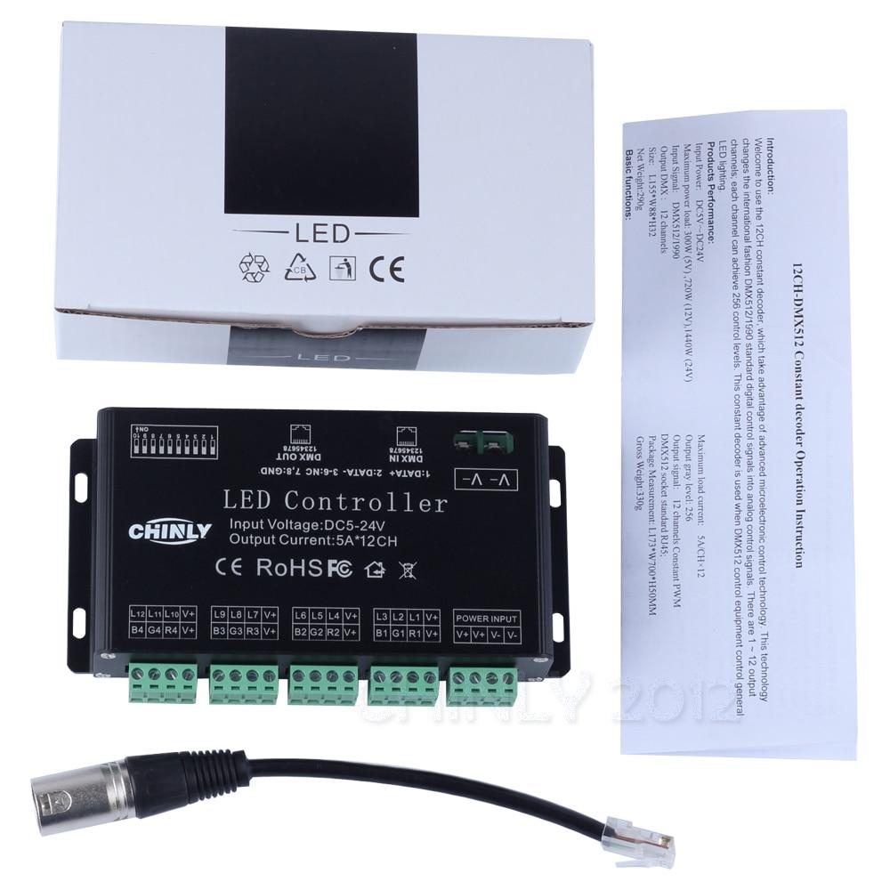DC5V-24V 12 հեռուստաալիք DMX 512 RGB LED շերտի - Լուսավորության պարագաներ - Լուսանկար 5