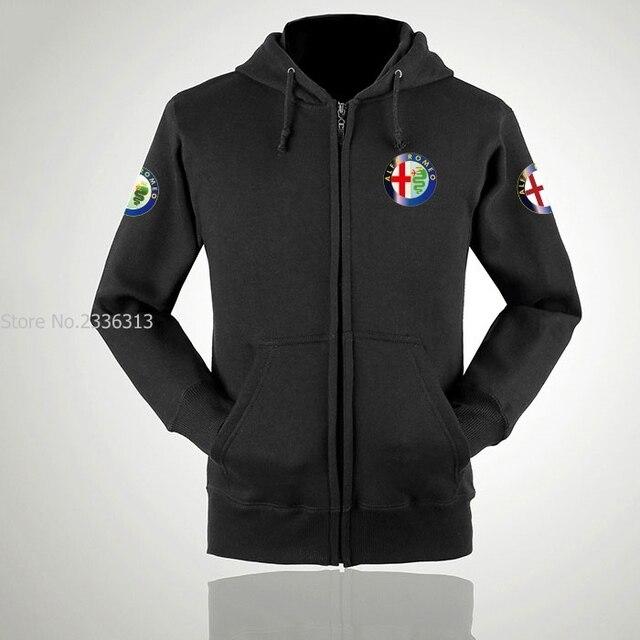 Autumn And Winter Alfa Romeo Sweatshirt New Design Jackets Sales