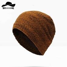WEARZONE 2017 Brand Beanies Knit Winter Hats For Men Women Beanie Men's Winter Hat Caps Bonnet Outdoor Ski Sports Warm Baggy Cap цена