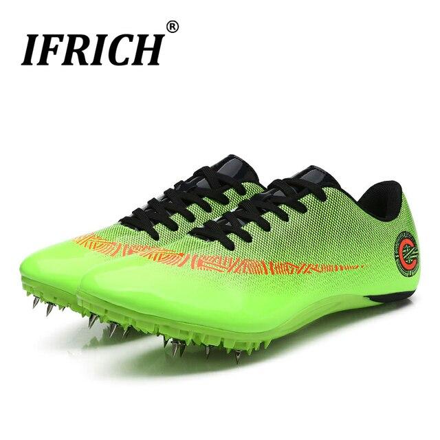 Женская и мужская спортивная обувь с шипами, спортивная обувь, спортивная обувь, обувь для бега, обувь для мальчиков и девочек