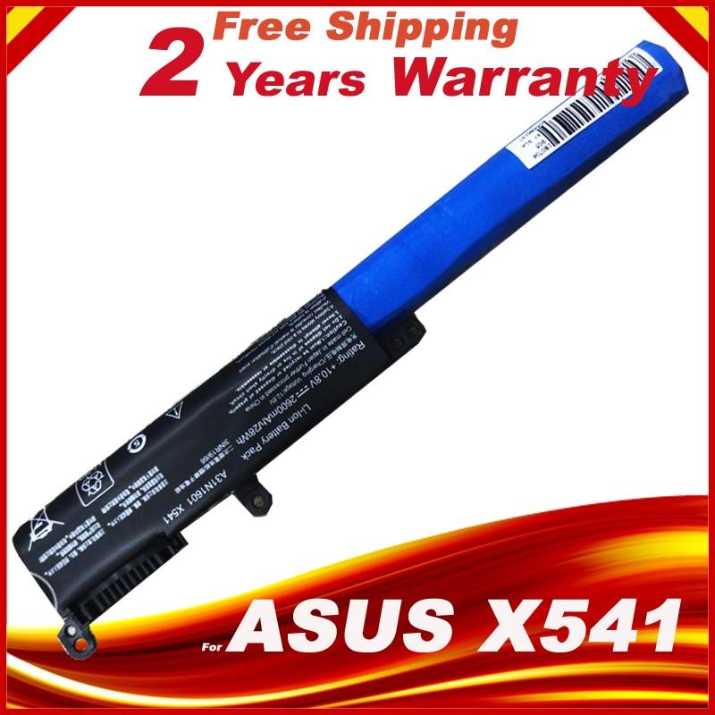 2600mAh A31N1601 Battery For ASUS R541UA X541SA X541SA X541SC X541UV X541 10.8V 36WH X541UV-1A X541UV-1C X541UV-3F X541UV-3G цена и фото