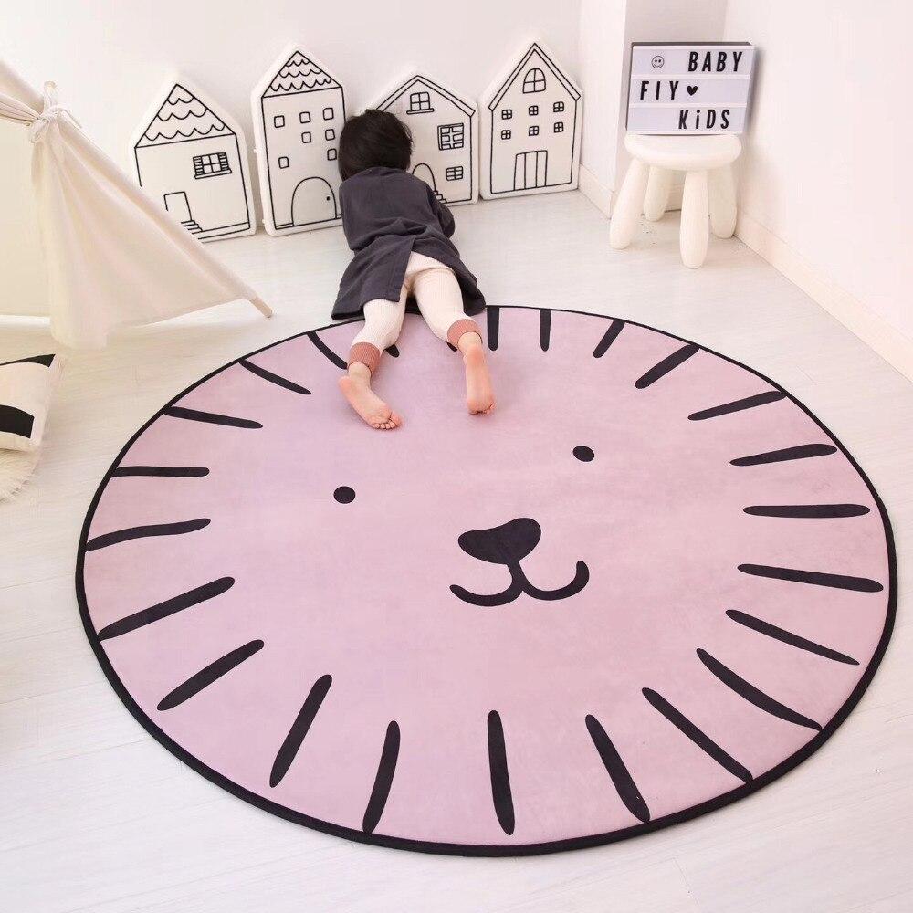 Enfants bande dessinée série tapis rond ordinateur chaise tapis de sol maison tapis enfants chambre enfants jouer tente zone tapis doux tapis chambre
