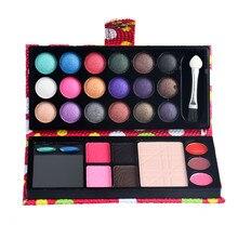 Hot Fashion Makeup Eye Shadow 26Colors Eye Shadow Makeup Palette Cosmetic Eyeshadow Blush Lip Gloss Powder F5.9